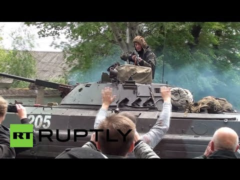 Mariupol Shooting: Ukrainian forces open fire at civilians