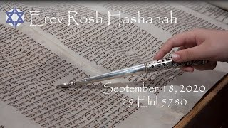 Erev Rosh Hashanah: September 18, 2020