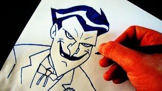 Como Desenhar o Coringa [JLH] - (How to Draw Joker) - SLAY DESENHOS #99
