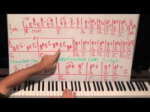 Free Piano Lesson From The 1960s  WHOLE Song As A Thank You To My Audience  39th Hired Request