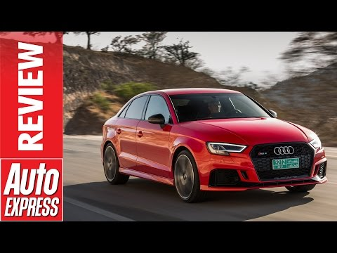 New Audi RS3 review - 395bhp road rocket launched in the desert