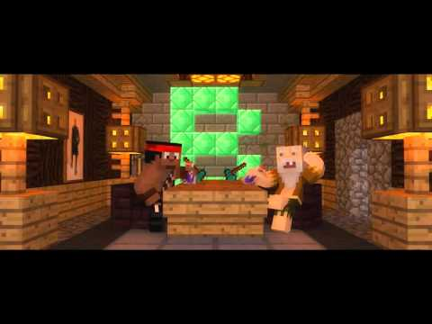 "1 Hour ♫ ""Thank You!"" - A Minecraft Parody of MKTO's Thank You (Music Video)"