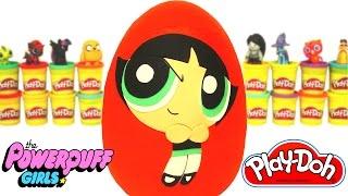 Powerpuff Girls Buttercup Sürpriz Yumurta Oyun Hamuru - LPS Gumball Cicibiciler