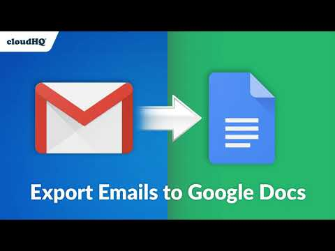 cloudHQ Releases a New Way to Collect Emails in Google Docs...