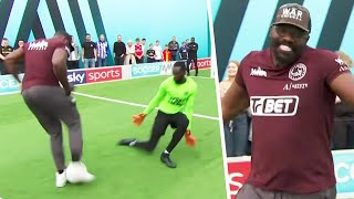 Derek Chisora's hilarious one-on-one effort 🤣| With Aitch & Jason Dodd | Soccer AM Pro AM