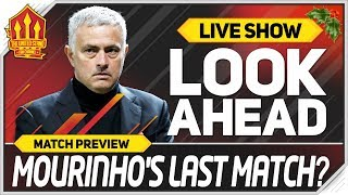 Manchester United vs Arsenal | MOURINHO Must Go!