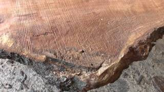 This video is not available. Cherry Table Tops sawn on our Wood-mizer