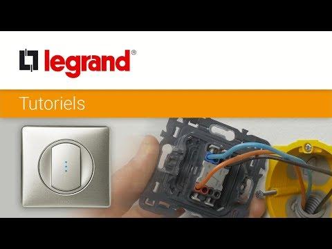 Incroyable Brancher un interrupteur témoin Céliane Legrand pour connaître l PN-65