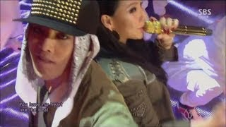 G-DRAGON_0929_SBS Inkigayo_R.O.D(Feat. CL) + ????_No.1 of the week MP3