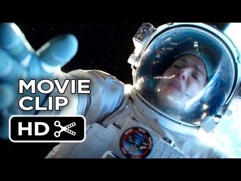 Gravity Extended CLIP - Hang On 2013 - Sandra Bullock Movie HD