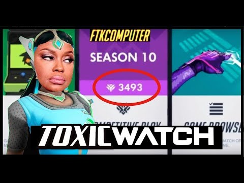 My Match Into Masters is ALWAYS TOXIC! (Overwatch) thumbnail