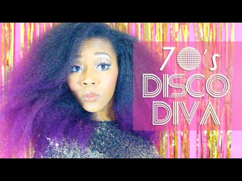 diy last minute halloween costume 70s disco diva youtube