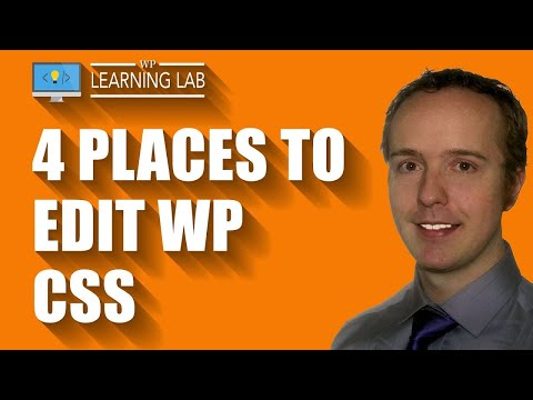 4 Places To Edit WordPress CSS   WP Learning Lab