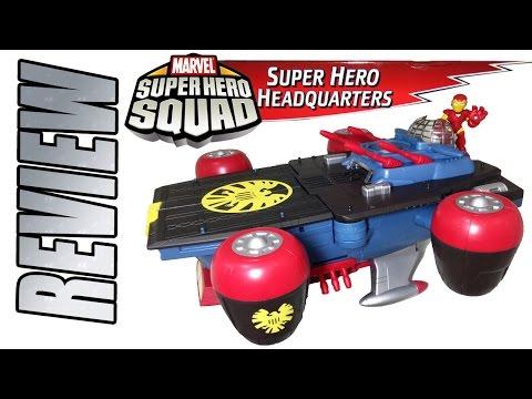 Review Super Hero Headquarters Marvel Super Hero Squad