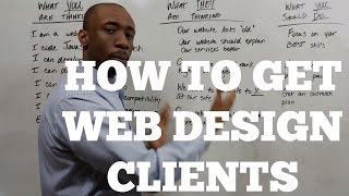 How to Get Web Design Clients(Would you like to get the step by step outreach plan I referenced in this video? You can download it here - http://covetedconsultant.com/cold-email This video ..., 2015-03-09T19:36:41.000Z)