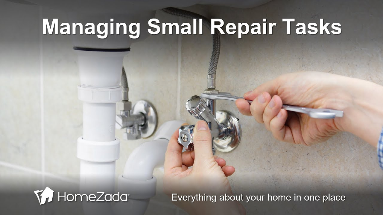 How to Manage Repair Tasks and Small Projects with HomeZada