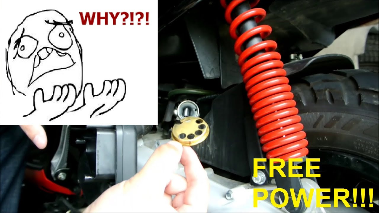 UNLOCK FREE POWER FROM YOUR SCOOTER (FASTER SCOOTER - EPISODE 2)