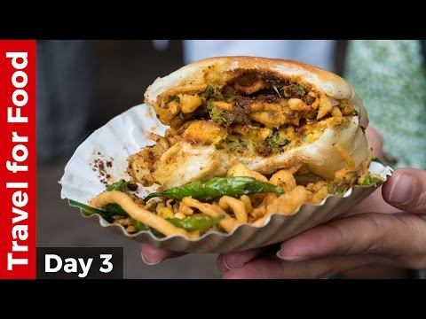 Indian Street Food Tour in Mumbai - Bombay Duck Fry and AMAZING Vada Pav!