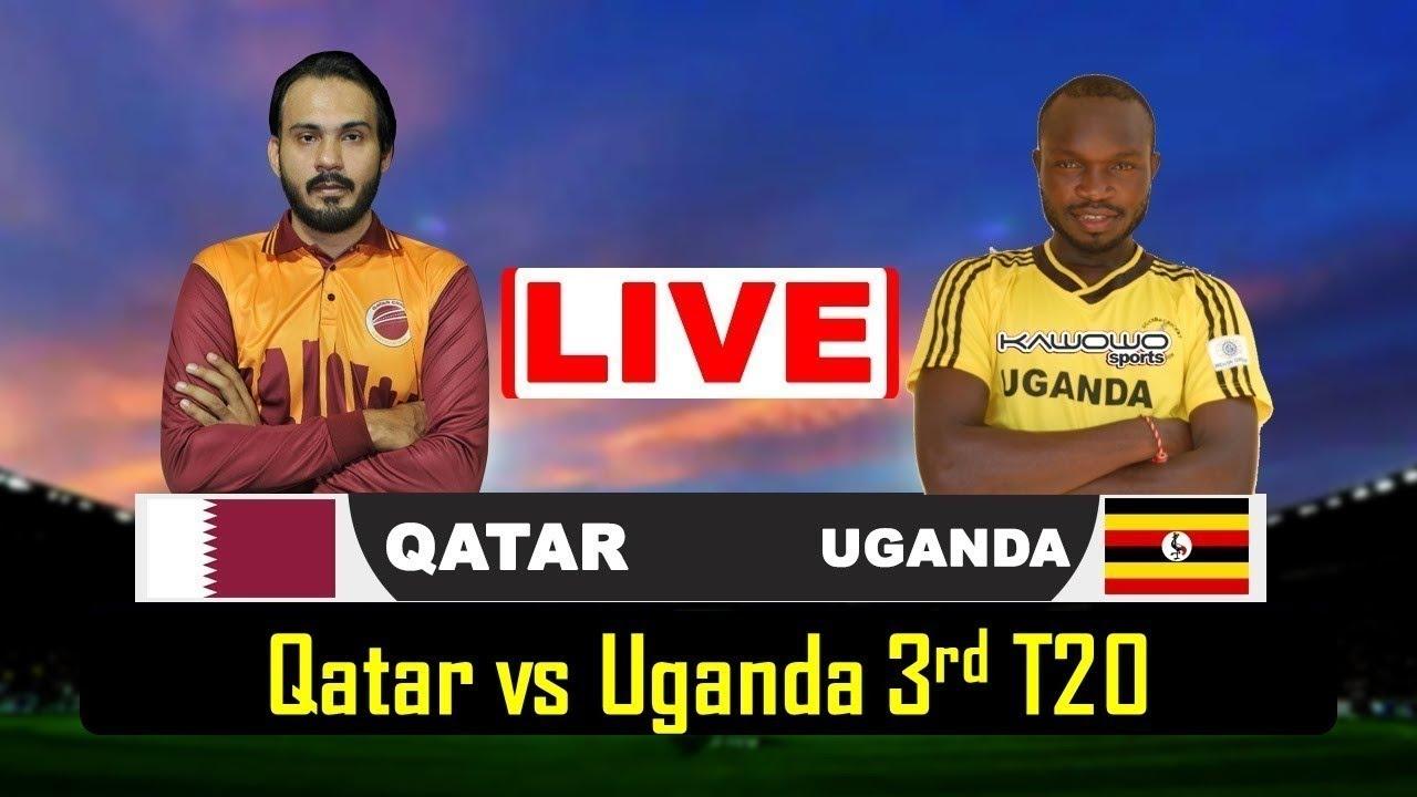 Qatar vs Uganda 3rd t20 LIVE Live 2020 QAT VS UGA
