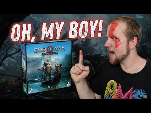 God Of War: The Card Game - Бог войны. Карточная игра - Обзор