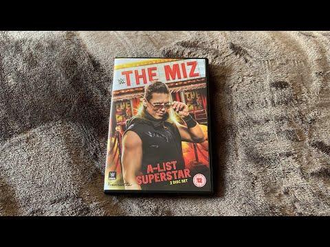 WWE The Miz - A-List Superstar DVD Unboxing