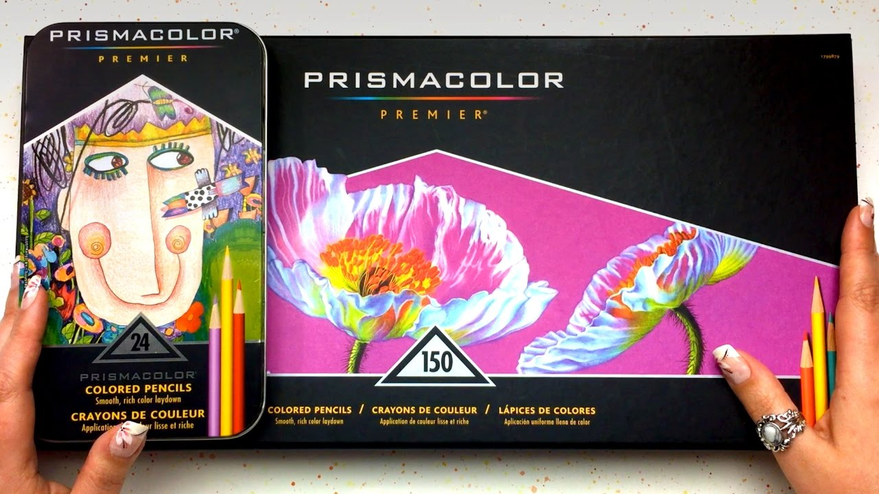 ultimate prismacolor colored pencils review youtube