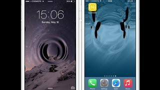 твик AquaBoard: живые обои для iPhone (iOS 8.4)