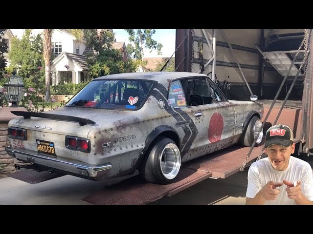 ハコスカ族車初めてのひとり旅!ラスベガスのセマショーへ 無事に到着するか⁉️ My Boso Nissan Skyline Goes To Vegas!! SEMA Ignite!