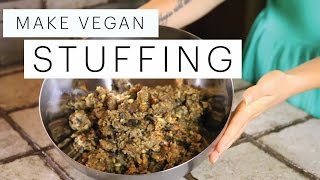 Vegan Stuffing Recipe (gluten Free Thanksgiving) | The Edgy Veg