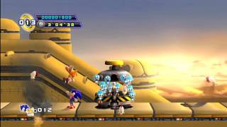 Sonic 4 Episode 2 Extended HD video game launch trailer - X360 PS3 iOS Android