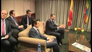 S.M. el Rey se reunió con el primer ministro de Etiopía en Adis Abeba