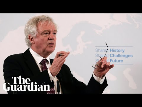 David Davis: Brexit Britain will not be a
