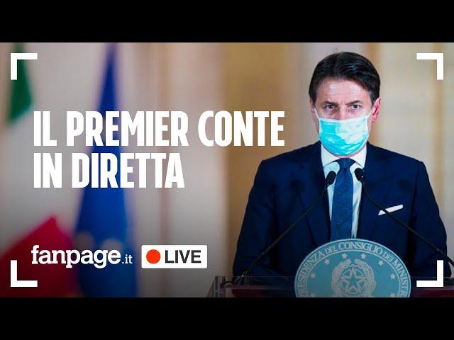 Conferenza Stampa Giuseppe Conte: Il Premier illustra in diretta il nuovo dpcm