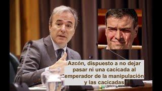 AZCÓN ¡LOS ALCALDES, CONTRA LA TIRANÍA DE SÁNCHEZ!