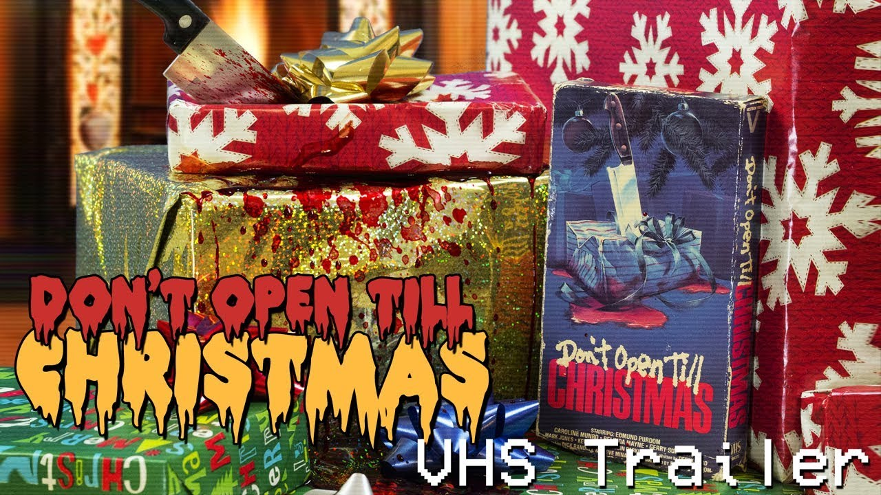 Dont Open Till Christmas.Don T Open Till Christmas 1984 Vhs Trailer