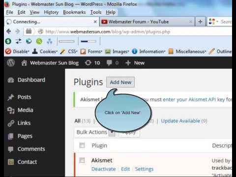 How to Add Plugins to Wordpress