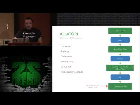 DEF CON 22 - Tim Strazzere and Jon Sawyer - Android Hacker Protection Level 0