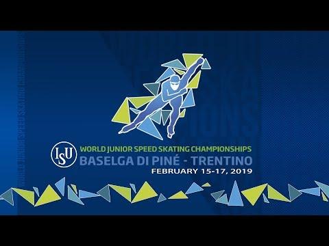 ISU World Junior Speed Skating Championships - Baselga di Piné 2019 (Day1)