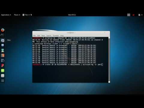 hack mật khẩu wifi wp2 bằng công cụ aircrack trên kali linux - Dò pass wifi sử dụng kali linux