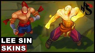 All Lee Sin Skins Spotlight (League of Legends)