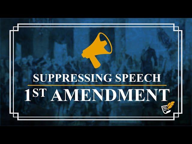 Universities Limit Free Speech | Constitution Corner