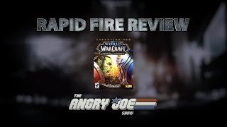 WOW: Battle for Azeroth - Rapid Fire Review (Video Game Video Review)