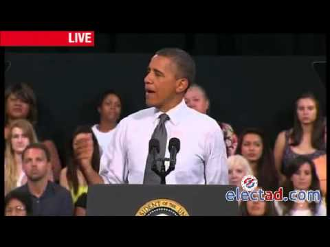 Barack Obama Campaign Rally in Las Vegas, NV - September 12 2012.mp4