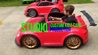 Power wheels grudge match racing 24 volt vs stock 12 volt