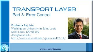 Transport Layer: Error control