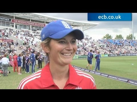 """""""One of my proudest moments"""" - Charlotte Edwards"""