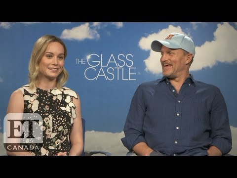 Brie Larson And Woody Harrelson On 'The Glass Castle', 'Captain Marvel'