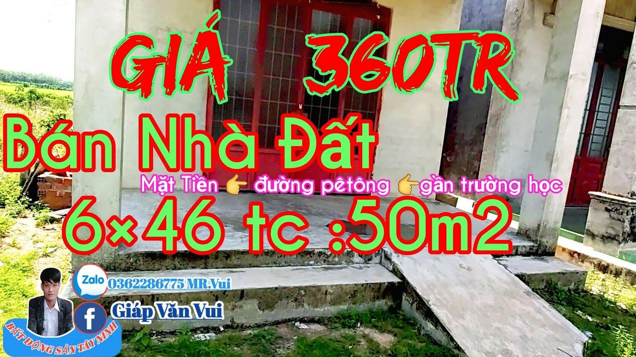 🔥Bán nhà đất giá rẽ Tân Châu_Tây Ninh 6×46tc :50m2||bds vui vẻ