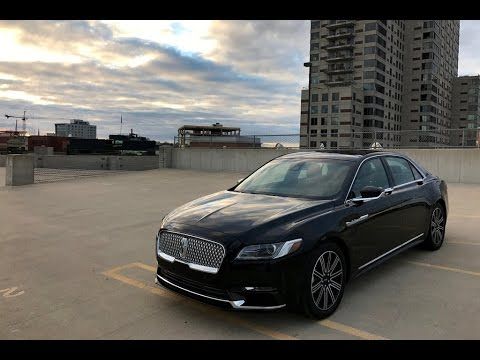 lincoln continental 2017 car review youtube. Black Bedroom Furniture Sets. Home Design Ideas