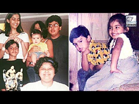 Sonam Kapoor & Arjun Kapoor's UNSEEN Childhood Pics | LehrenTV Mp3